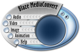 Blaze MediaConvert is a powerful multimedia batch converter supporting conversion among over 140 image, audio, animation, and video formats quickly and easily.  Unlike other conversion applications that support only one or (at most) a few formats, Blaze MediaConvert is able to batch convert among nearly all multimedia formats conceivable.  For audio formats, two-way conversions among CD, MP3, WMA, WAV, and OGG, audio compression, and more are all supported. The software features advanced audio CD burning from any of the supported formats.  Blaze MediaConvert can also perform two-way video conversions among MPEG-1, MPEG-2, AVI, WMV, MOV, SWF, FLV, iPod, PSP, and 3GP.  The Video Constructor combines selected images to create a video in the destination format.  The Video Decompiler saves all frames within the selected video as single images. The extracted images can be saved as BMP, GIF, JPG, PCX, PNG, PNM, RAS, RGB, TGA, TIFF, and XPM.   The CD Recorder allows you to burn MP3, WAV, WMA, OGG files to CDR and CDR/W.  Its features include Fast multi-threaded design, Advanced buffering for superior performance, Easy track manipulation, Works easily with IDE and SCSI CD drives, Disk caching offered for the best quality results possible, and the ability to Write from network locations with caching feature.  The CD Converter provides many advanced options, including a CDDB auto-save feature, which enables track title, artist, and album information to be dynamically downloaded from the Internet CD Database and used when converting CD to WAV, MP3, WMA, or OGG.  Additional features include Animated GIF creation, Animated GIF decompiling, drag and drop support, versatile preferences for maximum control, and much more.  The conversions are easy to use and straight-forward.  Simply select the type of conversion you want to perform, add the files to convert, arrange the files in any desired order (optional), select the output format, and select the convert command.